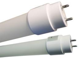 LED Tubo de plástico con 1600 lúmenes y 18w