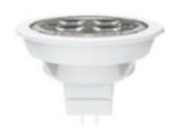 Lámpara de techo SPOT LED MR16 con 350 lm 5w y 100v